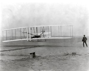 The Wright Brothers First Heavier-than-air Flight