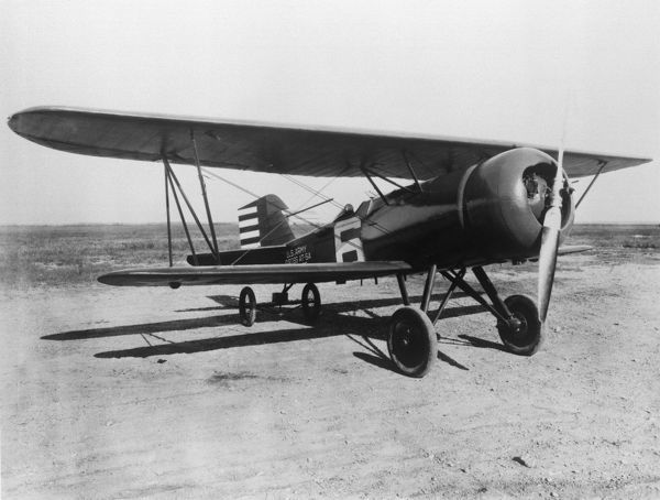 Curtiss Hawk with NACA Cowling in 1928
