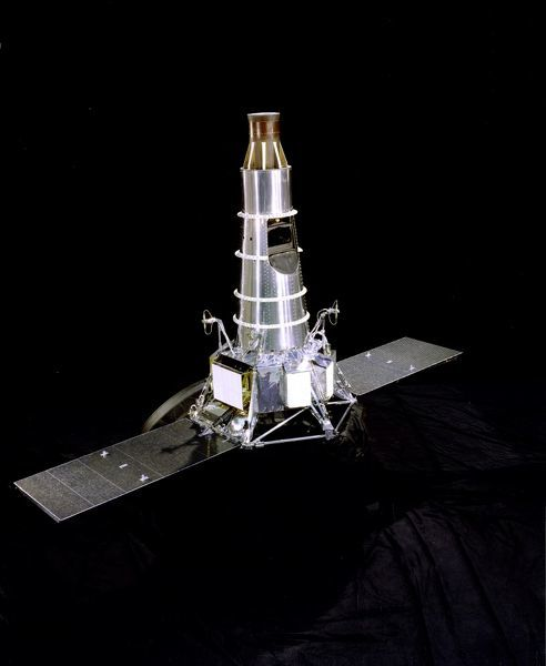 The Ranger fleet of spacecraft launched in the mid-sixties provided for the first time live television transmissions of the Moon from lunar orbit. These transmissions resolved surface features as small as 10 inches across and provided over 17